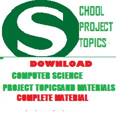 COMPUTER SCIENCE PROJECT TOPICS